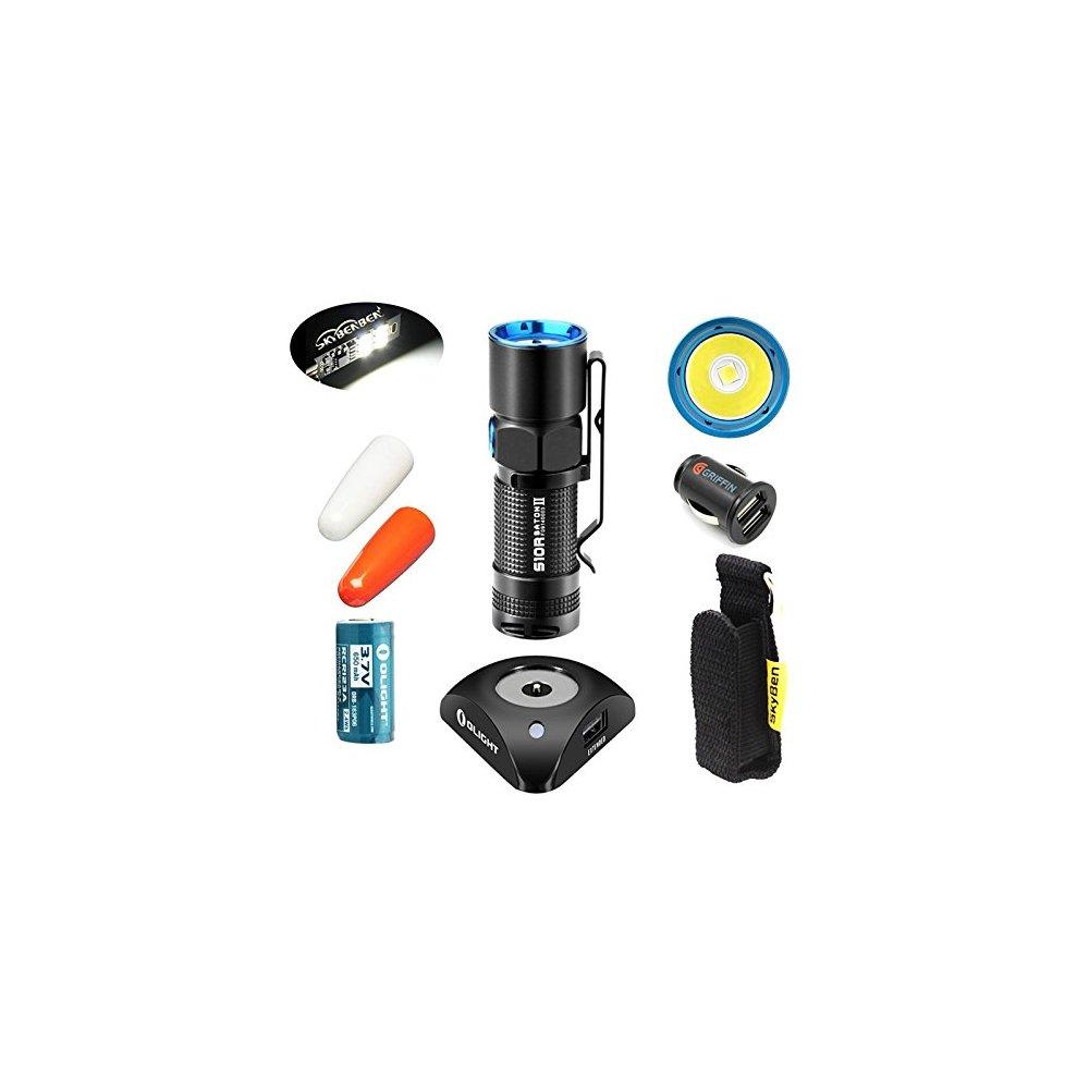 Onlight bundle: olight s10r ii 500 lumens rechargeable va...