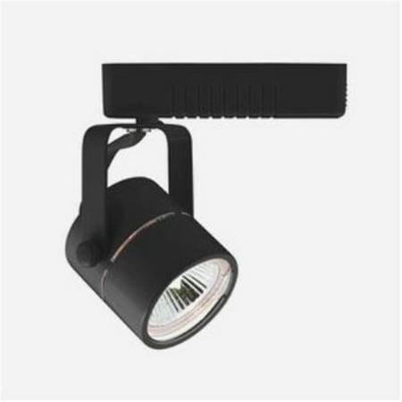 Voltage Track Lighting Fixture - Mini Deco 109 Series Low Voltage Track Light Fixture, 50 Watt, Black Finish