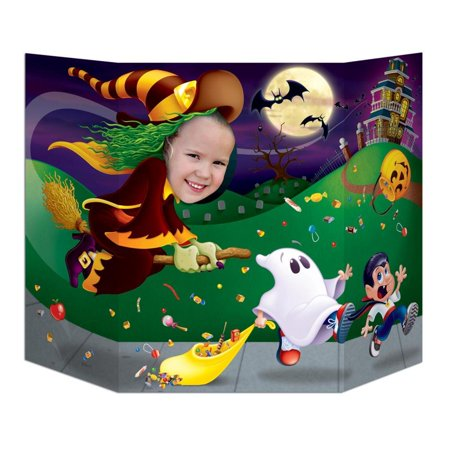 (Pack of 6) Halloween Party Witch Photo Prop