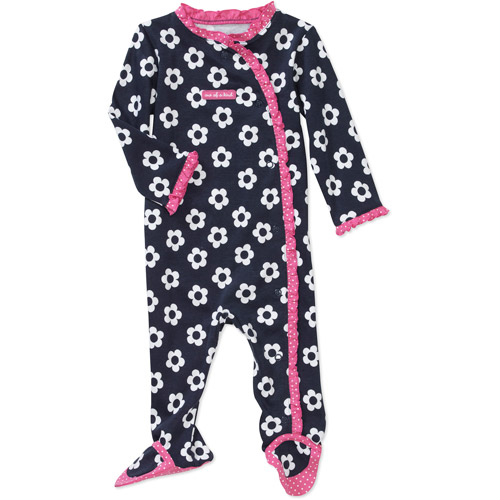Child of Mine by Carters Newborn Girls' Modern Daisy Print Sleep n Play Jumpsuit
