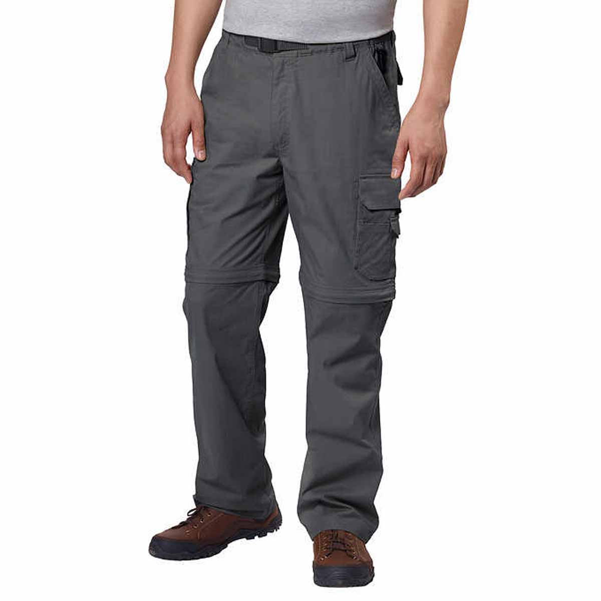BC Clothing Men/'s Convertible Stretch Cargo Hiking Active Pants Short size//color