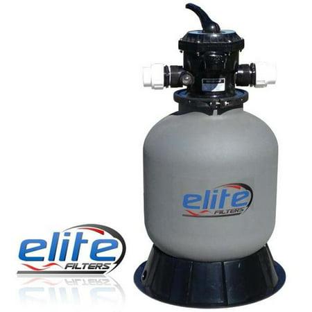Elite Pumps EPF2000 Pressurized Bead Pond Filter, 2000 gal](Ellie Pumps)