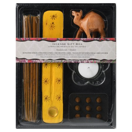 Incense Gift - Flora Classique Inc Incense Gift Box With Camel/tea Light