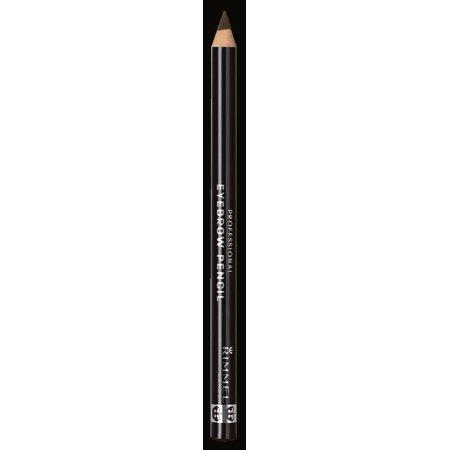 Rimmel Professional Eyebrow Pencil, Dark (Shiseido Eyebrow Pencil)
