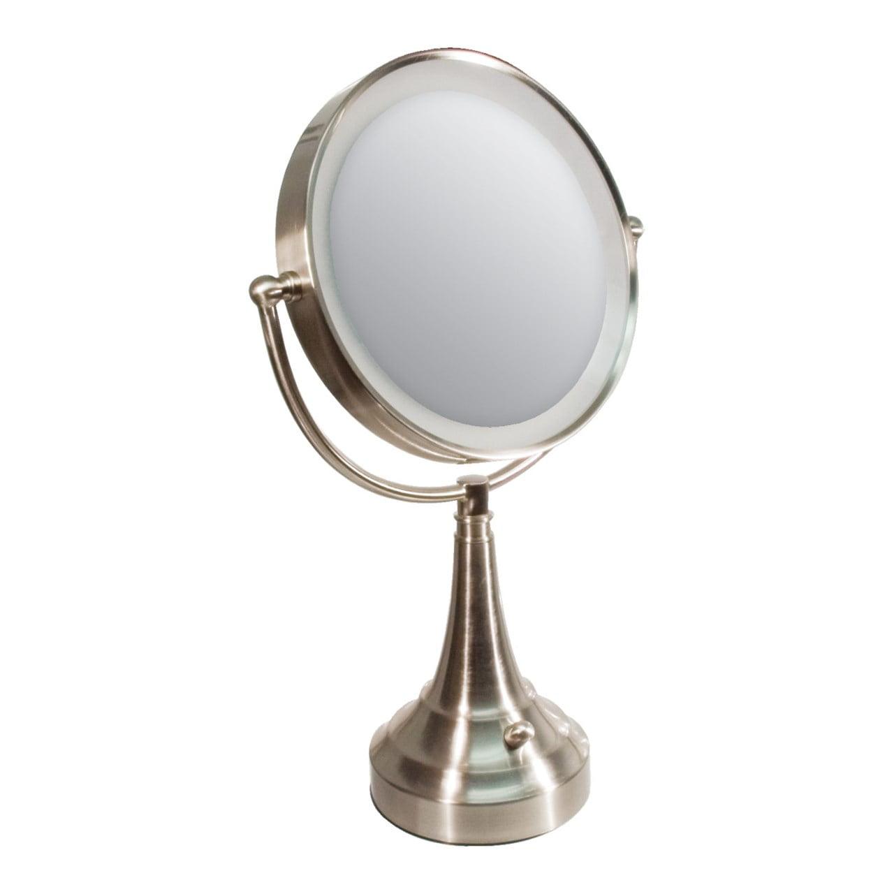 Zadro Zadro Led Lighted 10x 1x Vanity Mirror Round