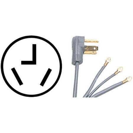 Certified Appliance 90-1028 3-Wire Dryer Cord, 10 ...