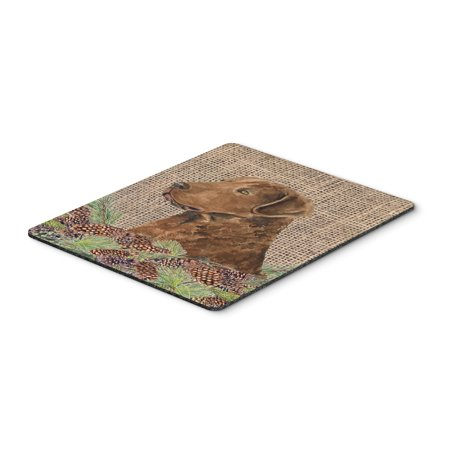 Curly Coated Retriever Mouse Pad, Hot Pad or Trivet - Hot Cunny