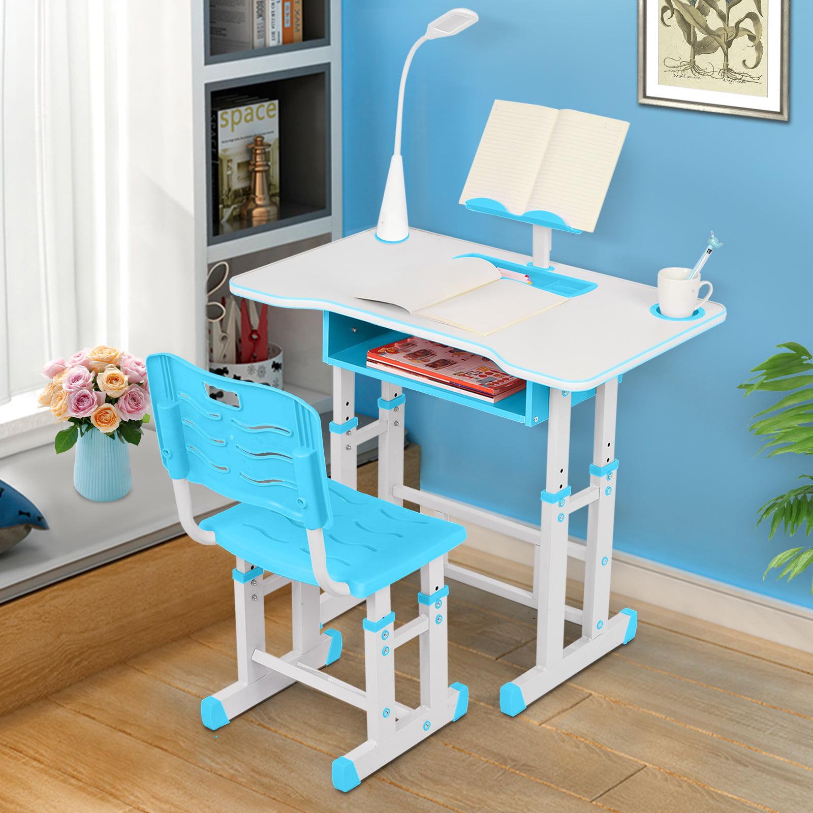 children's study desk and chair set