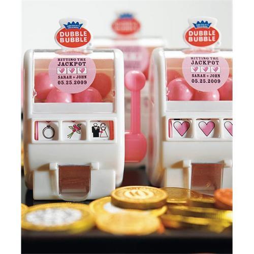 Weddingstar 8558 Mini Slot Machine Bubble Gum Dispenser