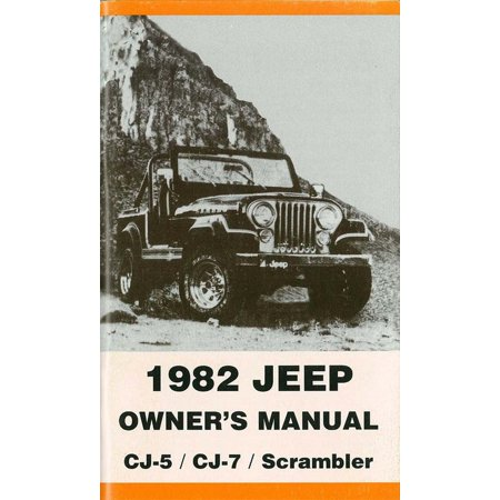 Bishko OEM Maintenance Owner's Manual Bound for Jeep Cj 1982 - Jeep Cj Owners Manual
