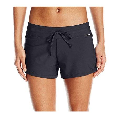 8ed31ff0fe ZeroXposur - ZeroXposur Women Swimwear Action Swim Shorts - Walmart.com