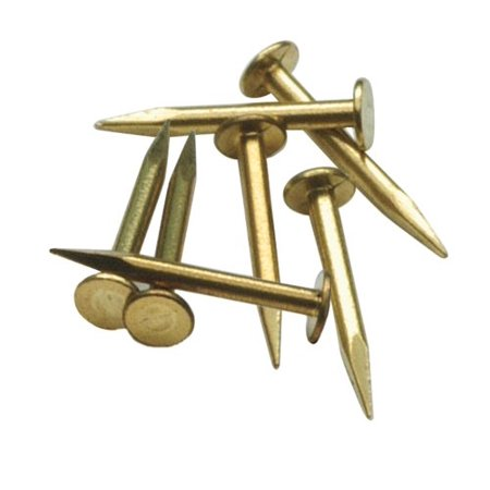 Peco IL-11 OO Scale Garden Railway Brass 10mm Track Fixing Pins Brass - Peco Flex Track