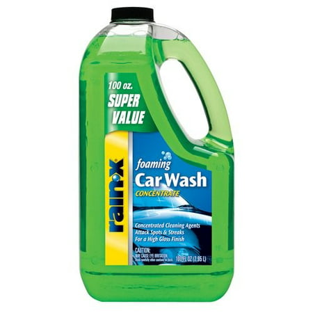 Rain-X Foaming Car Wash Concentrate, 100oz - 5072084W