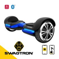 SWAGTRON Swagboard Vibe Hoverboard with Bluetooth Speakers - Self Balancing Scooter with LED Lights