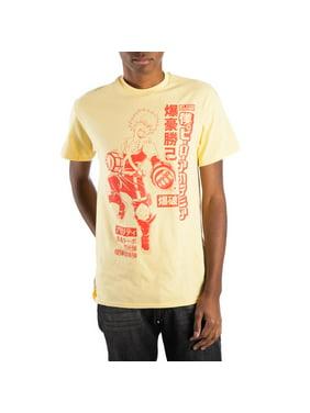 ed8ab3b646d62f ... Seven Times Six. Free shipping. Product Image My Hero Academia Izuku  Midoriya Men s Yellow T-Shirt Tee Shirt-Small