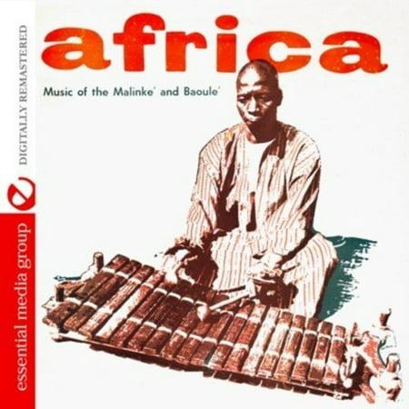 African Music - Africa: Music of Malinke & Baoule (CD)