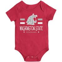 Washington State Cougars Colosseum Newborn & Infant Core Biggest Fan Bodysuit - Crimson