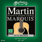 Martin Marquis Extra Light 12 String Acoustic Guitar Strings