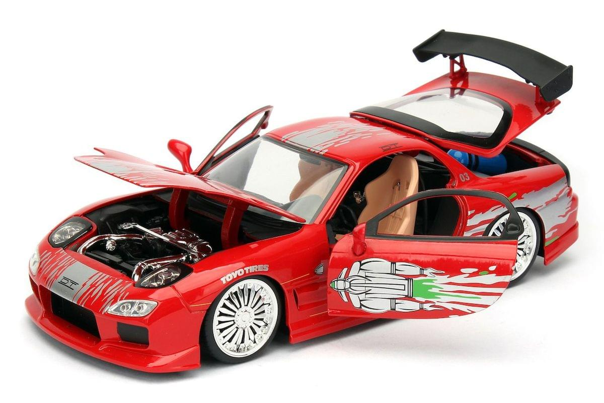 JADA 1:32  Fast And Furious DOM/'S MAZDA RX-7  Diecast Car Model