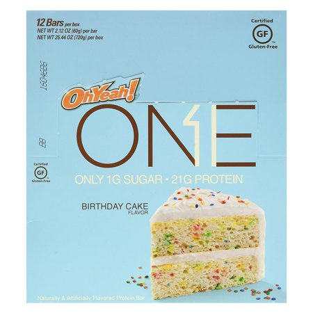 UPC 788434108089 Product Image For One Protein Bar Birthday Cake 212 OZ