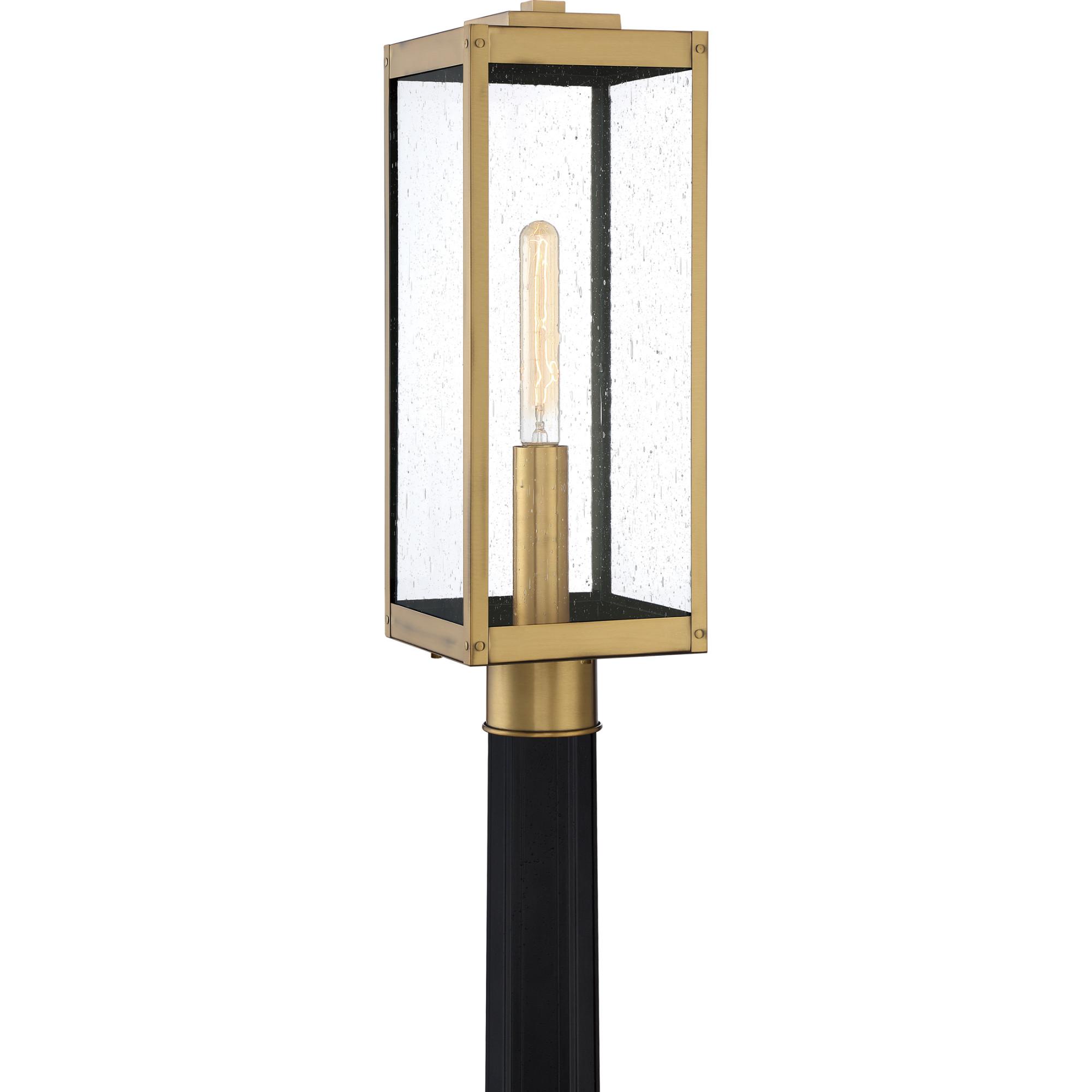 "Quoizel WVR9007 Westover Single Light 21"" Tall Outdoor Single Head Post Light"
