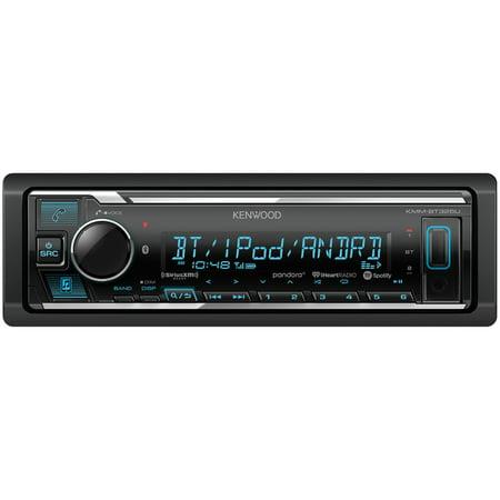 KENWOOD KMM-BT325U Single-DIN In-Dash Digital Media Receiver with Bluetooth and SiriusXM