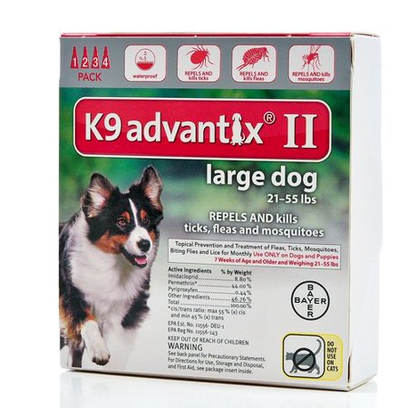 K Advantix Large Dog  Pack