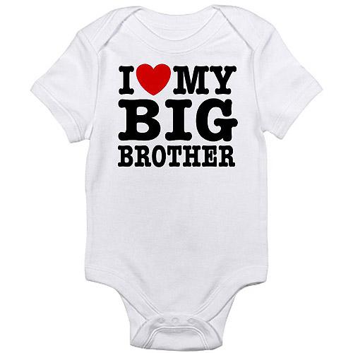 CafePress Newborn Baby Boy Brother Love Bodysuit