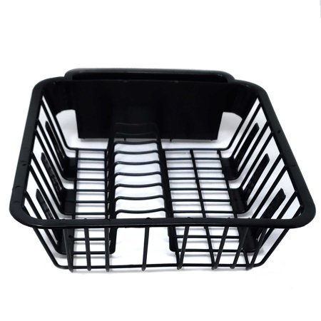 BPA Free Small Dish Drainer Kitchen Sink Drying Rack ()