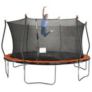 Bounce Pro 15' Trampoline, Basic Safety Enclosure, Orange