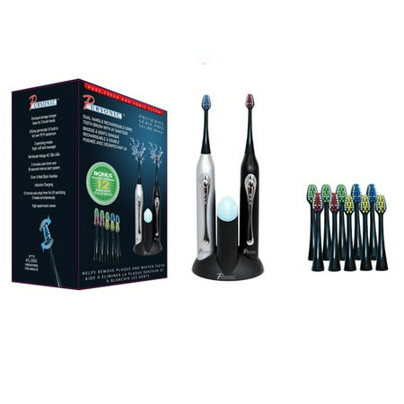 Pursonic Dual Handle Rechargeable Sonic Toothbrush With Uv