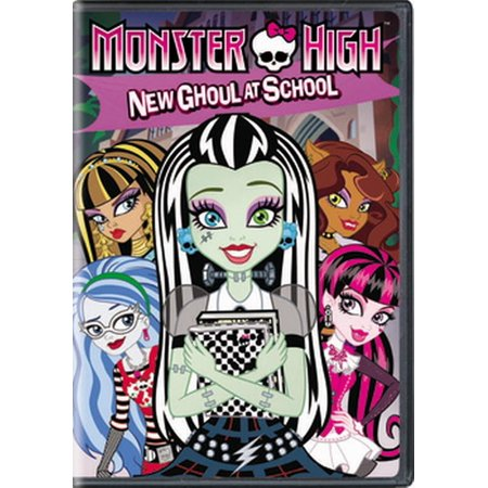 Monster High: New Ghoul at School (DVD) (High School Debut Dvd)