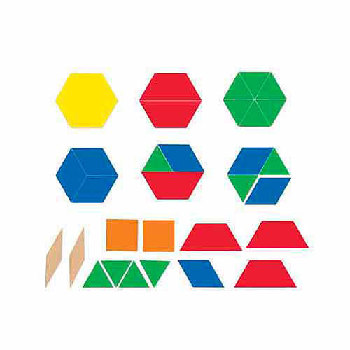 Learning Resources Giant Magnetic Pattern Blocks by Learning Resources