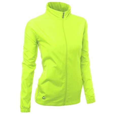 Orange Travel Jacket - FashionOutfit Women's Functional All Weatherproof Outdoor Windbreaker Jacket