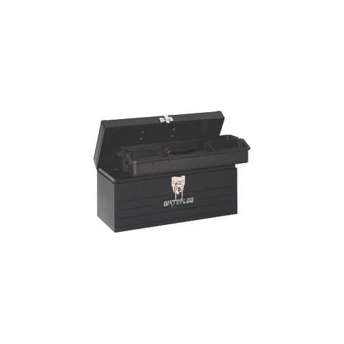 Waterloo 16 in. Tool Box with Plastic Tote
