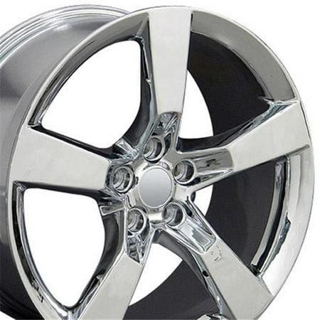 20 x 9 in. Wheel Replica, Chrome for Camaro SS