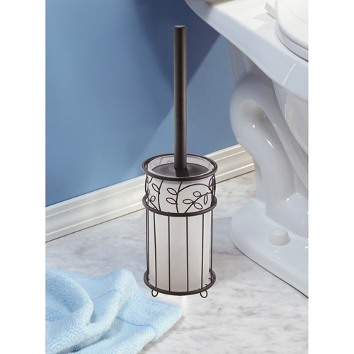 InterDesign Twigz Bronze Toilet Bowl Brush