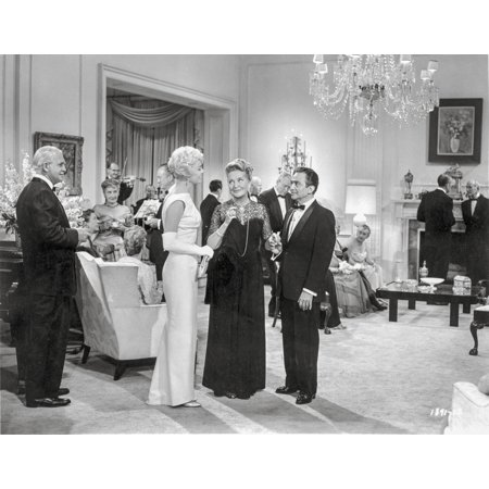 Wall Scenes For Parties (Pillow Talk Scene of an Elegant Party Excerpt from Film Photo)