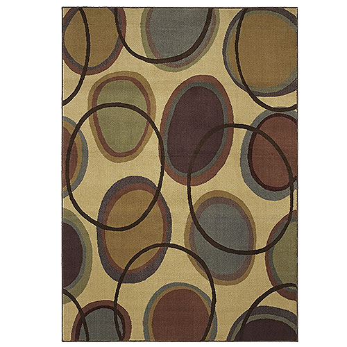 Transitions Cosmic Area Rug, Beige