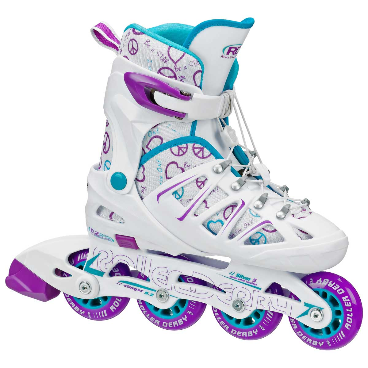 Stinger 5.2 Adjustable Girl's Inline Skate