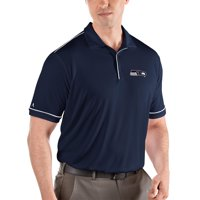 Seattle Seahawks Antigua Salute Polo - Navy/White