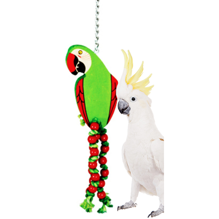 Parrot Bird Pin (969 Medium Parrot Bird Toy )