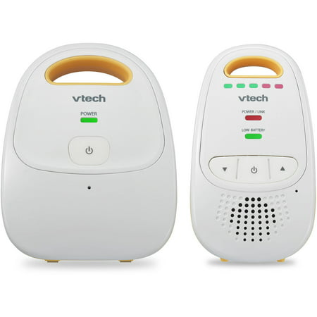 VTech DM111, Digital Audio Baby Monitor, DECT 6.0, Belt (Vtech Audio Baby Monitor With 2 Parent Units)