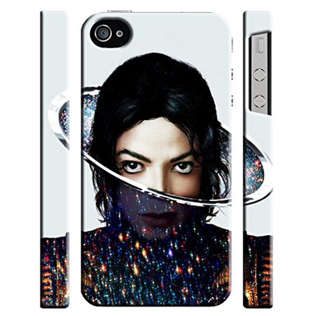 Ganma Michael Jackson Case For Iphone 4 4s Hard Case Cover ()