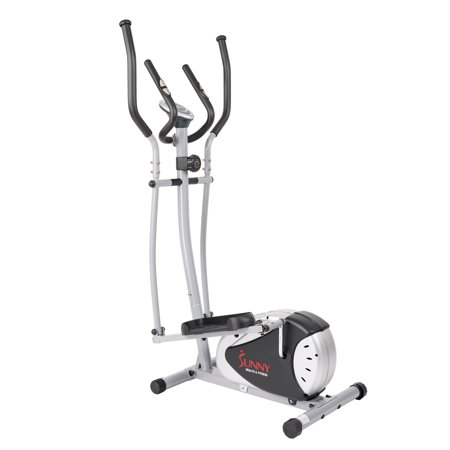 Sunny Health   Fitness Sf E905 Magnetic Elliptical Bike Elliptical Machine W  Lcd Monitor And Heart Rate Monitoring