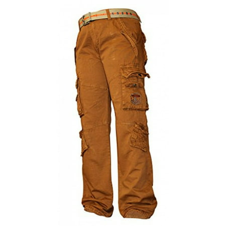 92e75f3d9c0 X-2 - Mens s Cotton Casual Fitted Pants Slim Style Trousers Gold Brown 38 -  Walmart.com