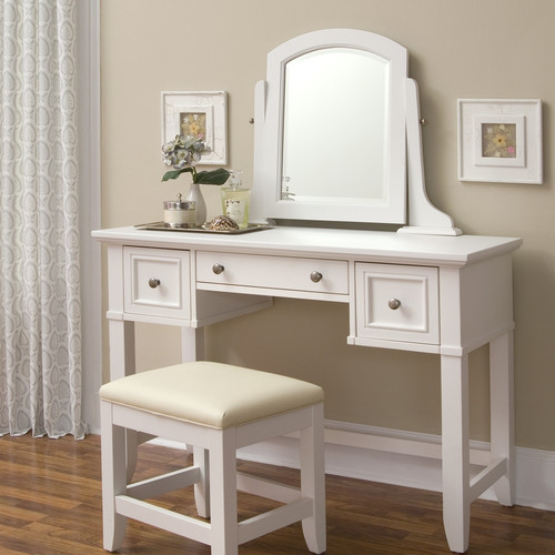 Home Styles Naples Vanity with Mirror
