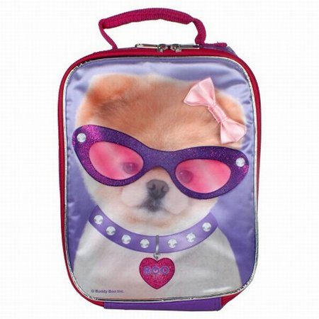 Boo the Cutest Dog In The World Boo-tiful Purple Lunch Bag Insulated lunch  Box