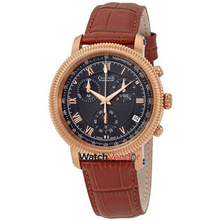 Charmex President II Chronograph Black Dial Men's Watch 2988 - image 3 de 3