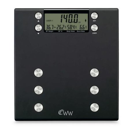 Conair Ww54 Weight Watchers Body Analysis Scale Walmart